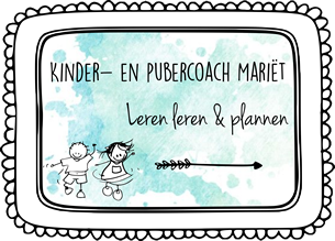 Kindercoach Mariët Logo